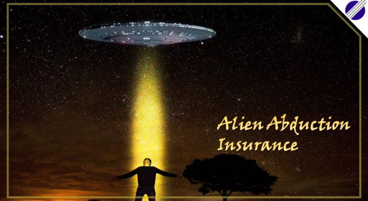 Alien Abduction Insurance: An out of this world cover, literally